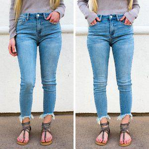 NWT Judy Blue Jeans Kelly Light Wash Skinny JB8843